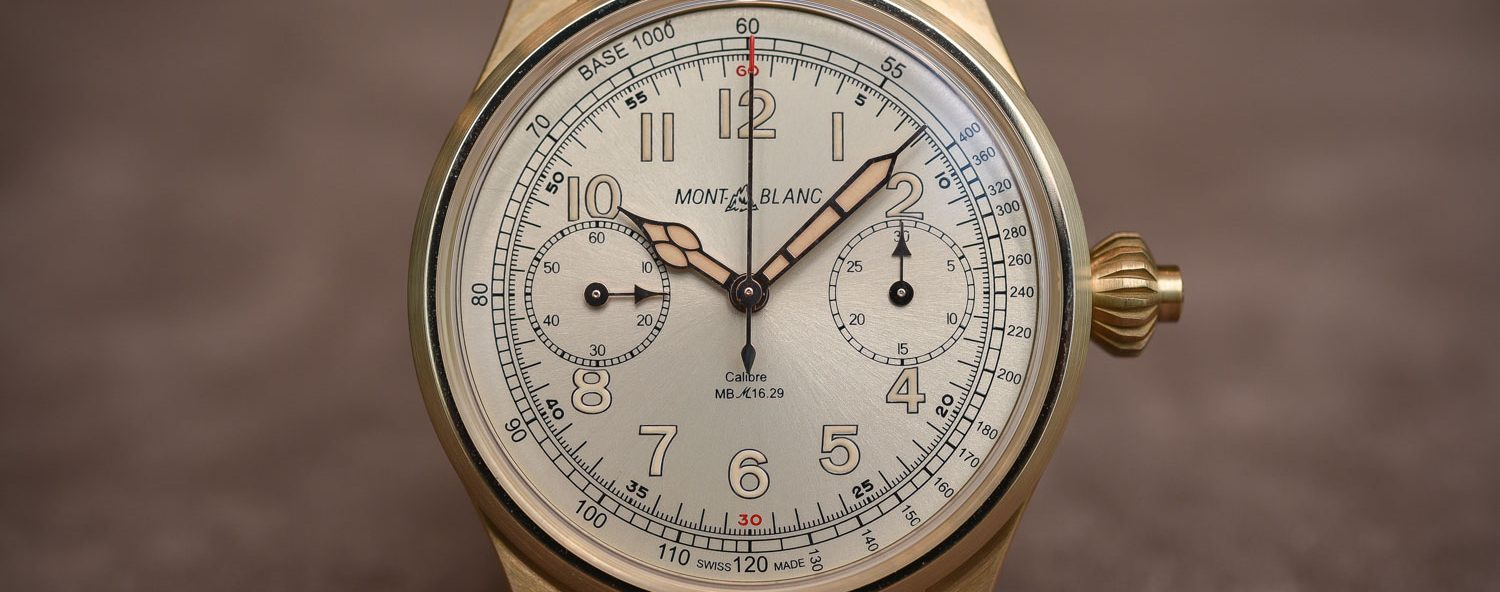 Montblanc-1858-Chronograph-Tachymeter-Limited-Edition-Bronze-Review-Price-2