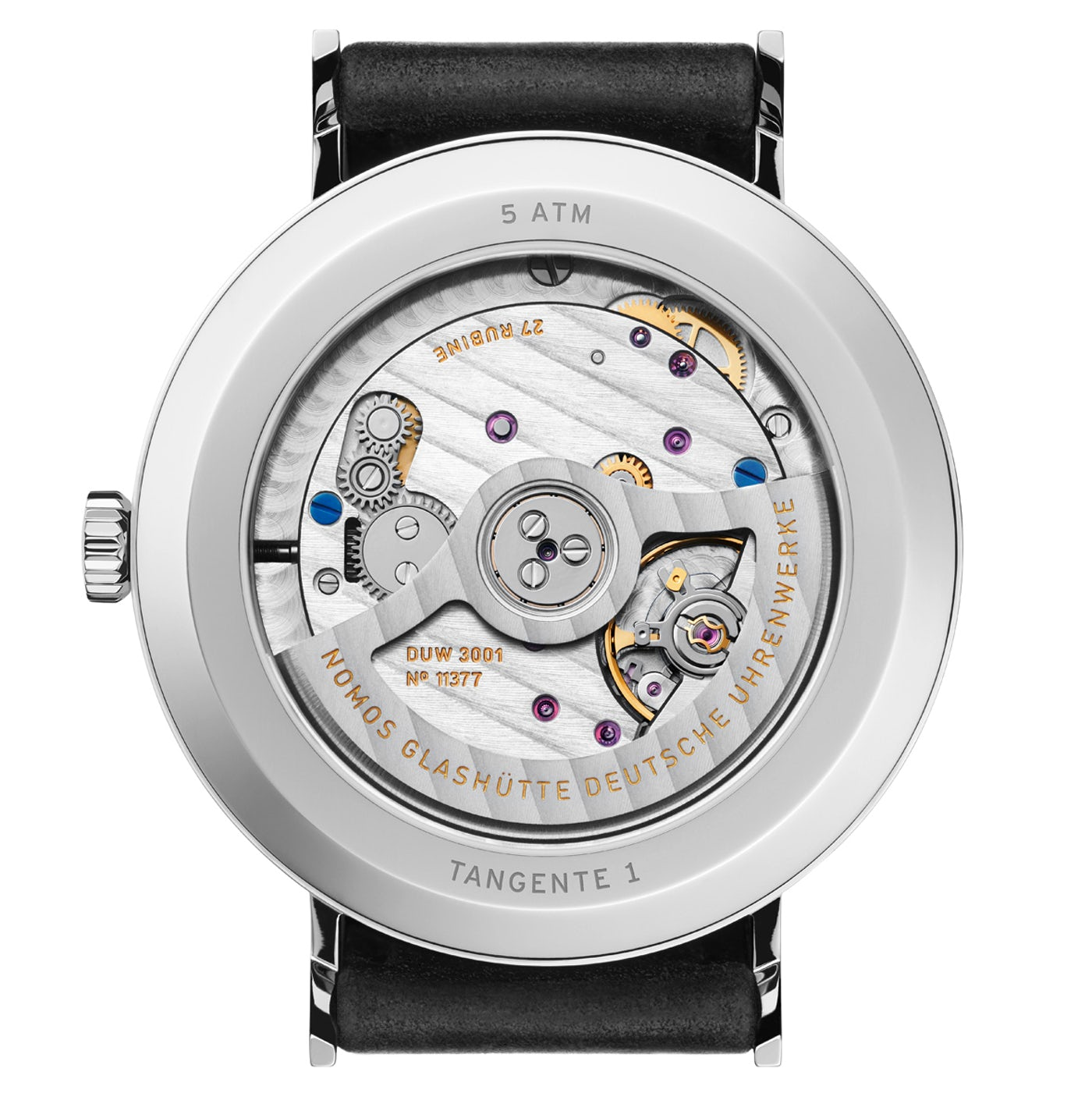 A closer look at the Nomos DUW 3001 Movement