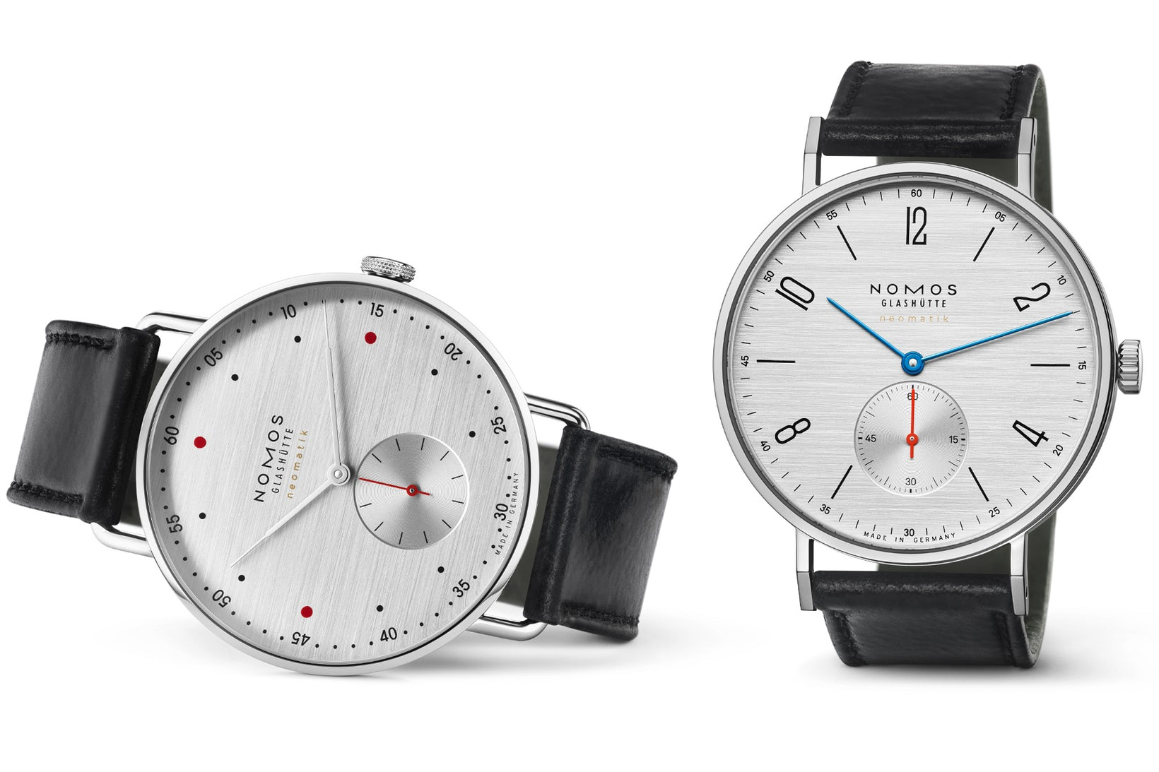 "New ""Silvercut"" Dial Design by Nomos Glasshutte"
